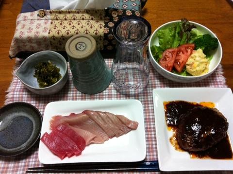 今日の夕飯1♡.jpg